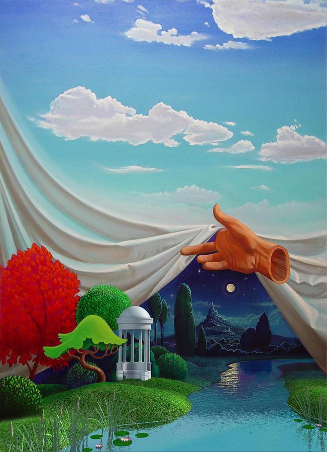 Surreal Landscape Mixed Media - Dreamscape by Daniel Bourbonnais
