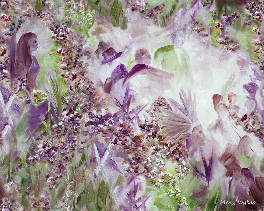 Impressionism Painting - Dreamscape by Mary Beglau Wykes