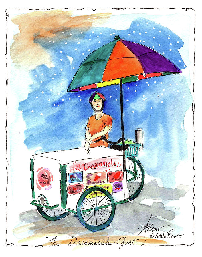 Dreamsicle Girl  by Adele Bower