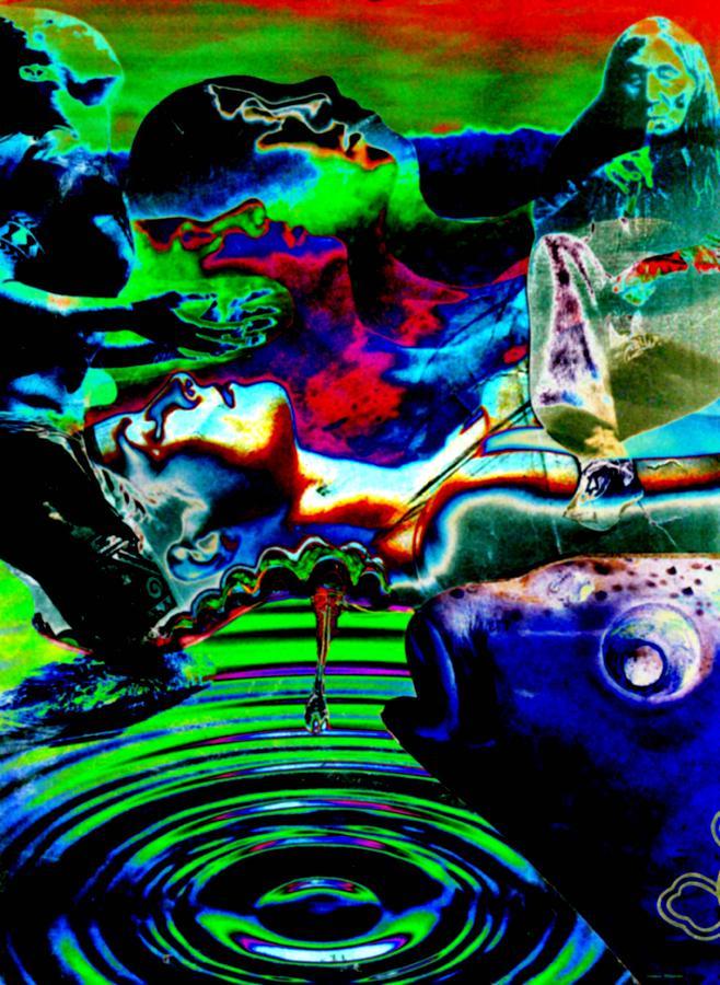 Spiritual Digital Art - Dreamstate  by Toomas Altnurme