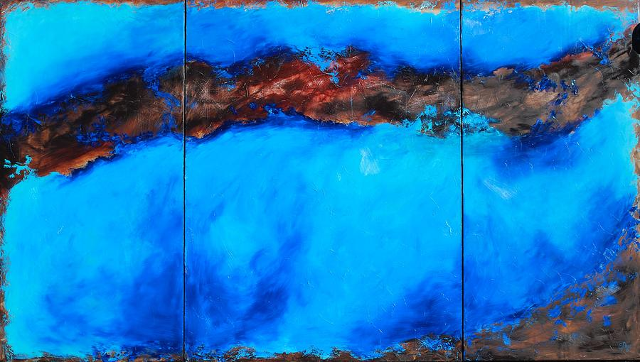 Abstract Painting - Dreamweaver by Emily Page