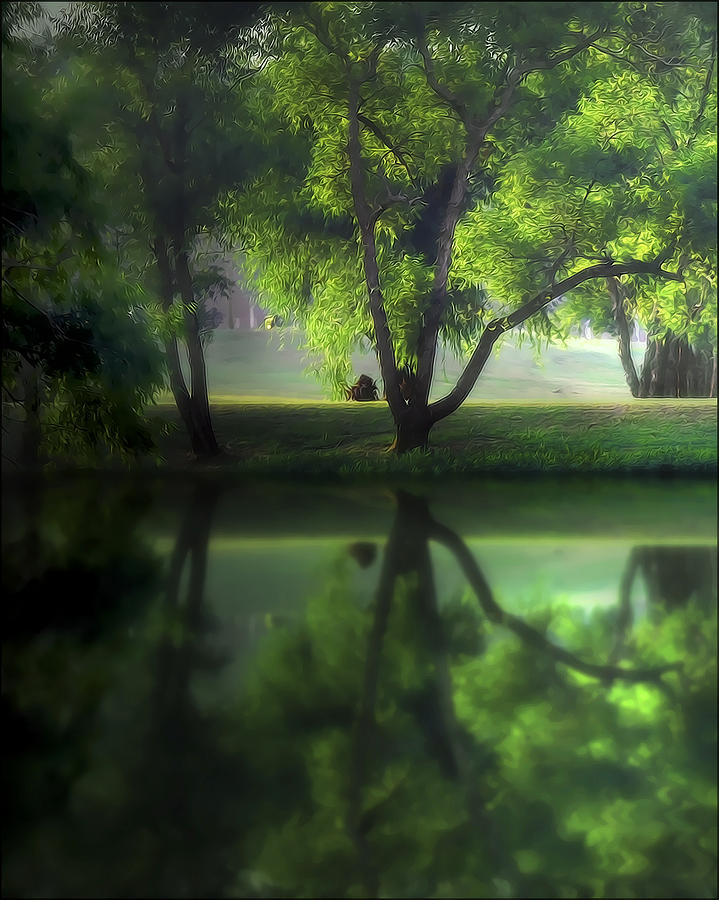 Lake Photograph - Dreamy Afternoon by Cecil Fuselier