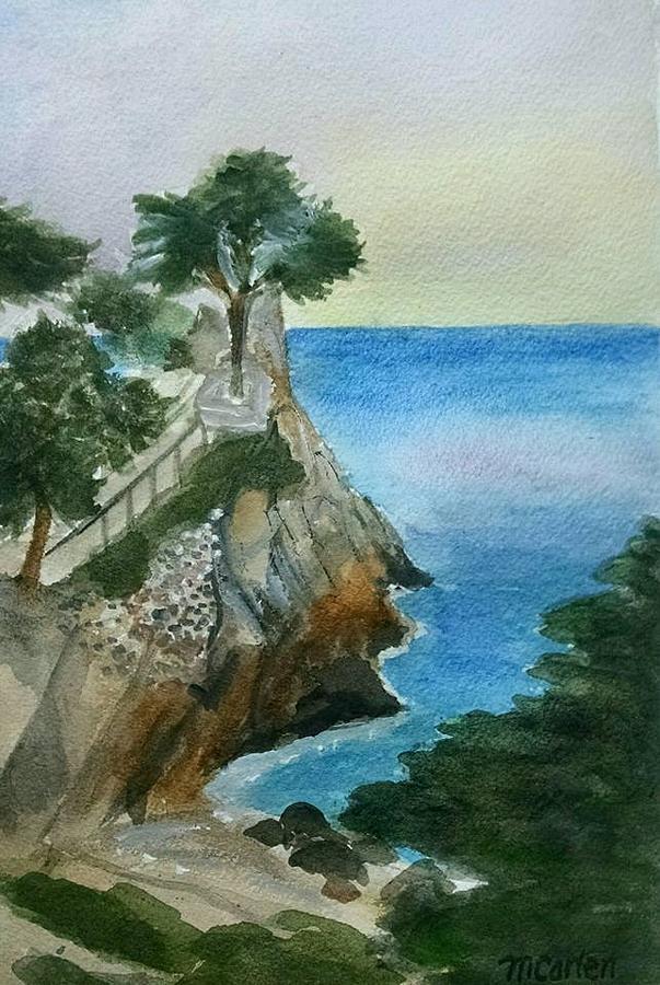 Dreamy Lone Cypress Pebble Beach by M Carlen