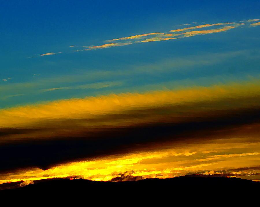 Dreamy Sunset in Spokane by Ben Upham III
