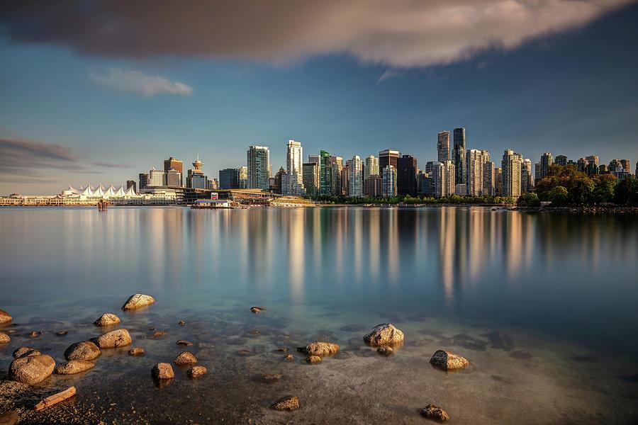 Dreamy Vancouver Cityscape by Pierre Leclerc Photography