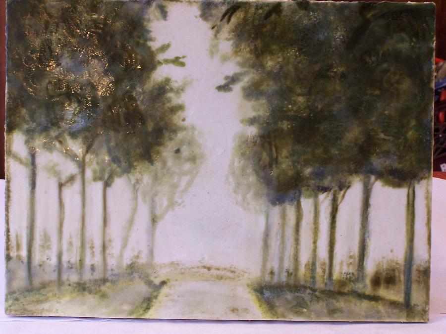 Landscape Painting - Dreamy Walk by Karla Phlypo-Price