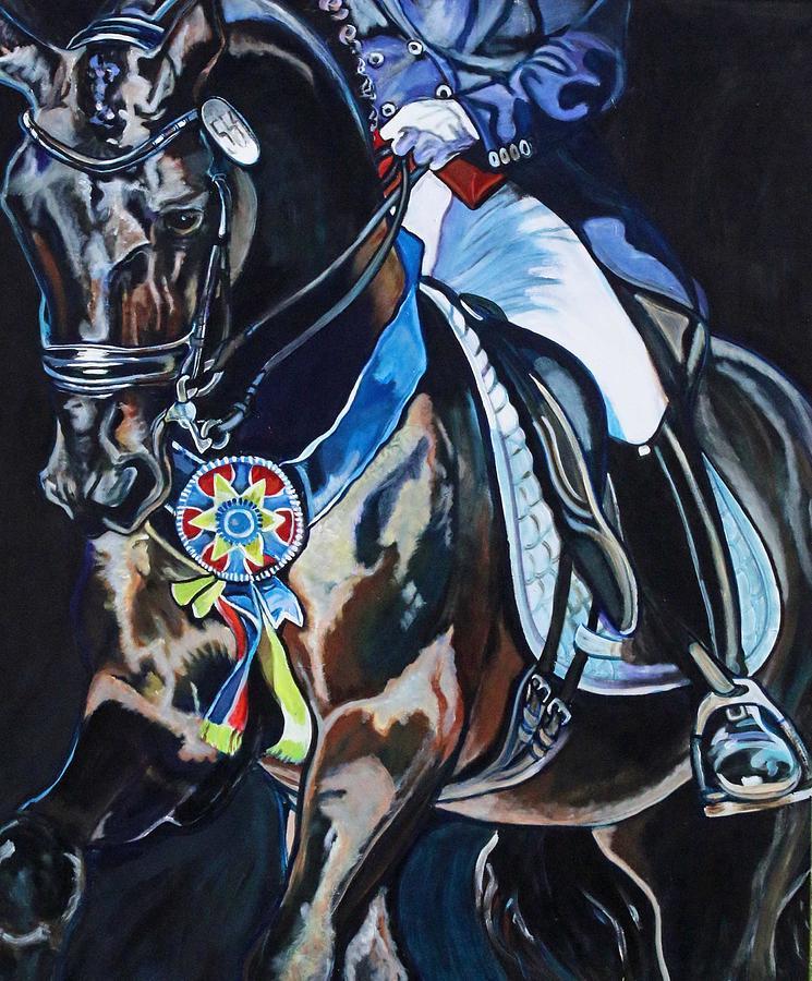Dressage Stallion by Stephanie Come-Ryker