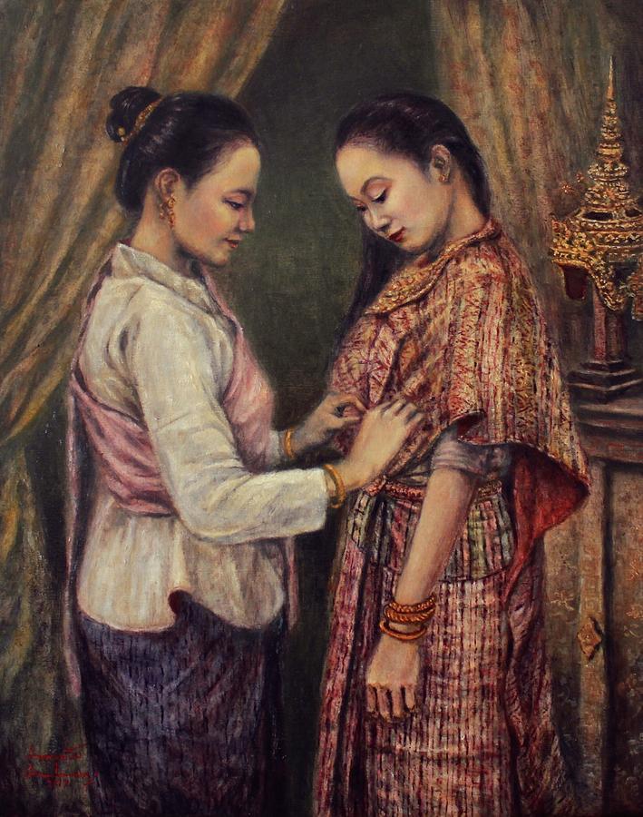 Dressing Nang Sida by Sompaseuth Chounlamany
