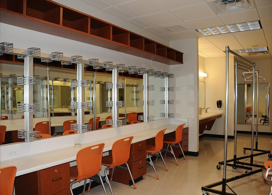 Ada Oklahoma Photograph - Dressing Rooms For Actors by Jennifer  Reeder