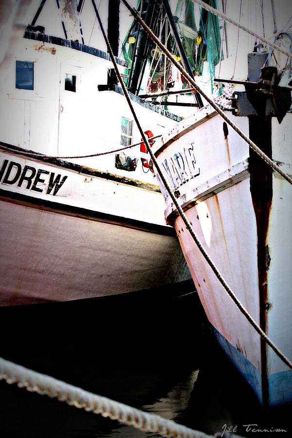 Boats Photograph - Drew And Marie by Jill Tennison