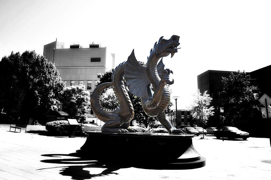 Drexel Photograph - Drexel Dragon by Bill Cannon
