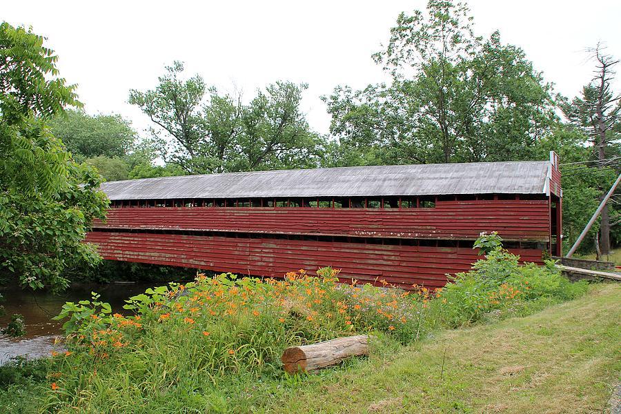Driebrlbis Station Covered Bridge by Wayne Toutaint
