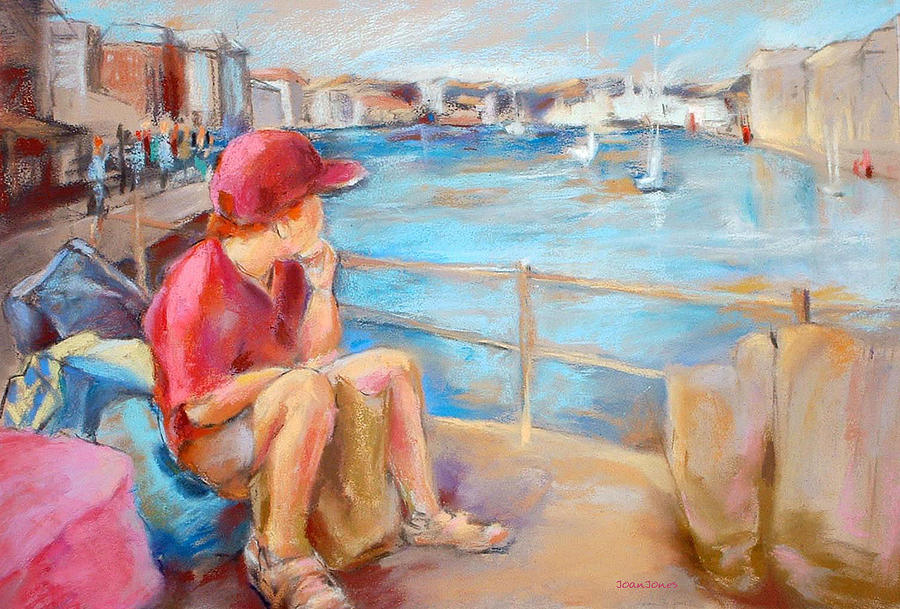 Bergen Norway Painting - Driftin And Dreamin by Joan  Jones