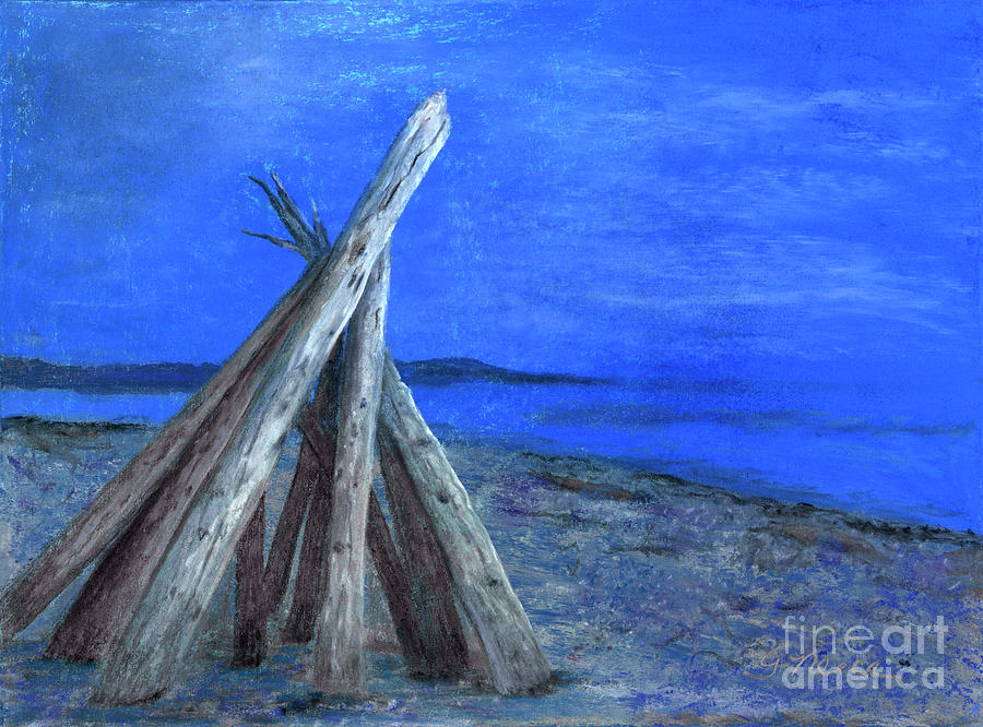 Driftwood Fort by Ginny Neece