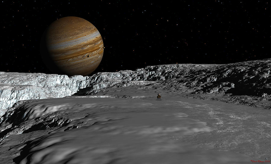 Drilling on Europa by David Robinson