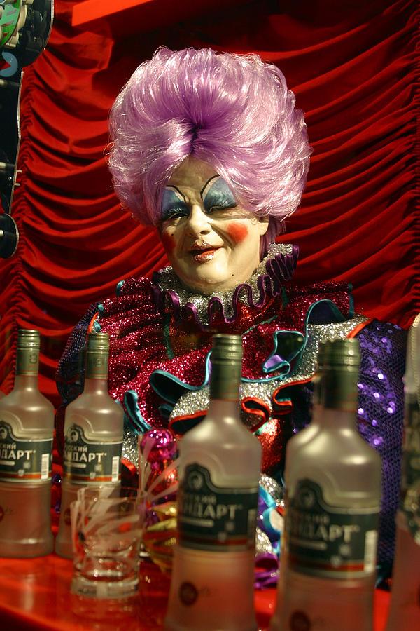 London Photograph - Drink Sir Maam by Jez C Self