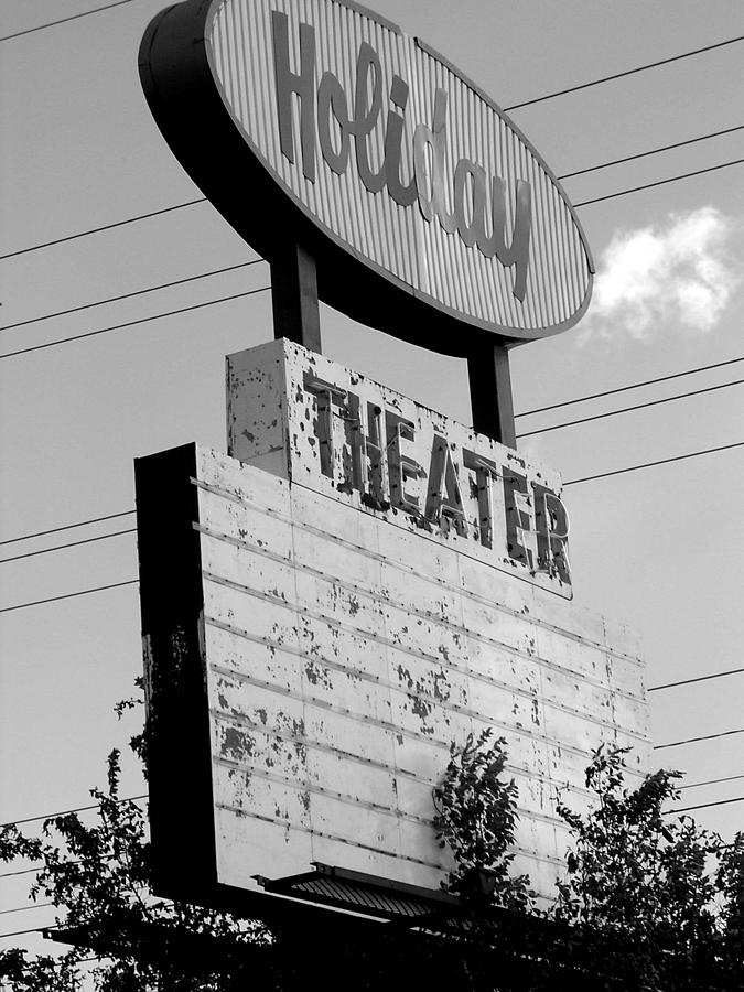 Nostalgia Photograph - Drive-in by Audrey Venute