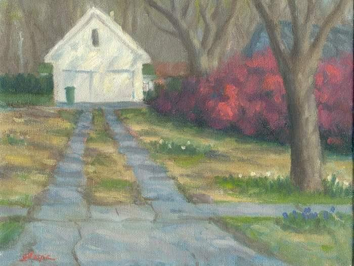 Landscape Painting - Driveway by Michael Gillespie