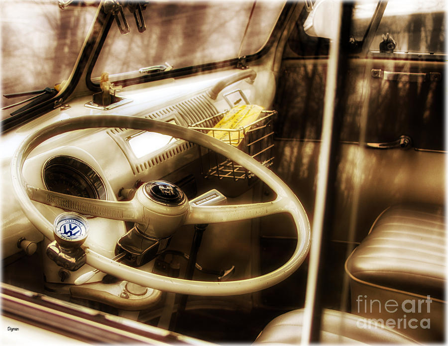Volkswagen Photograph - Driving 21 Windows by Steven Digman