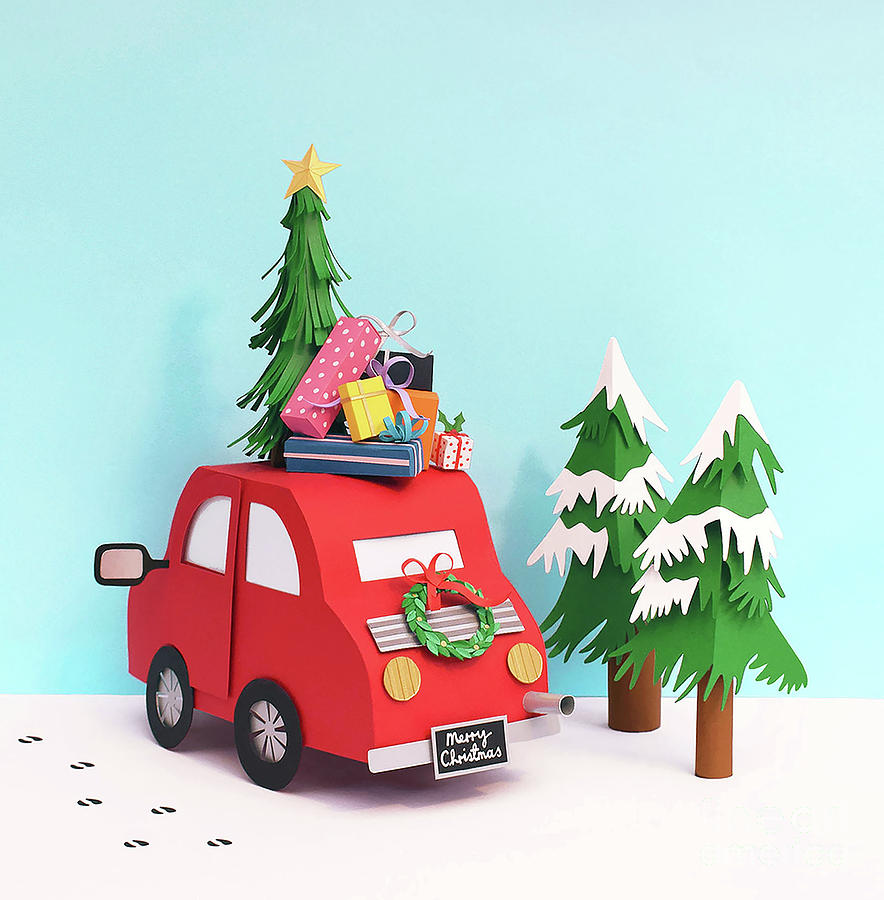 Driving Home For Christmas.Driving Home For Christmas