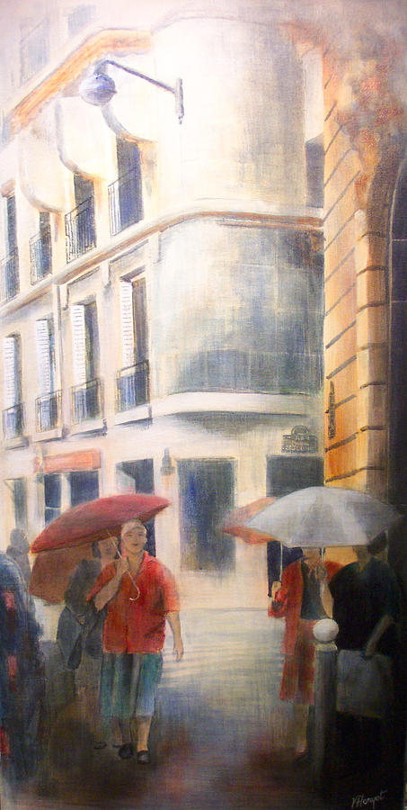 Drizzle Painting - Drizzle by Victoria Heryet