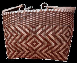 Drop Handle Purse Tapestry - Textile by Lucille Lossiah