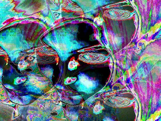 Fantasy Digital Art - Drops by Bianca Pirlog