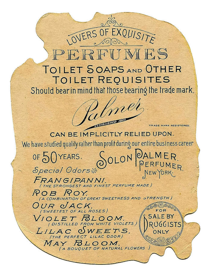 Perfume Ad Photograph - Druggists by ReInVintaged