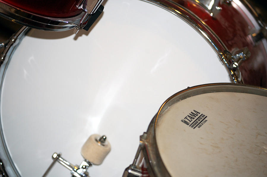Drum Photograph - Drum 4 by Jame Hayes