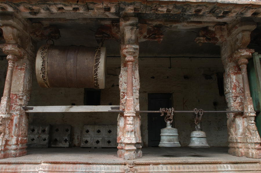 Drum  And Bells Photograph by Deepak Pawar
