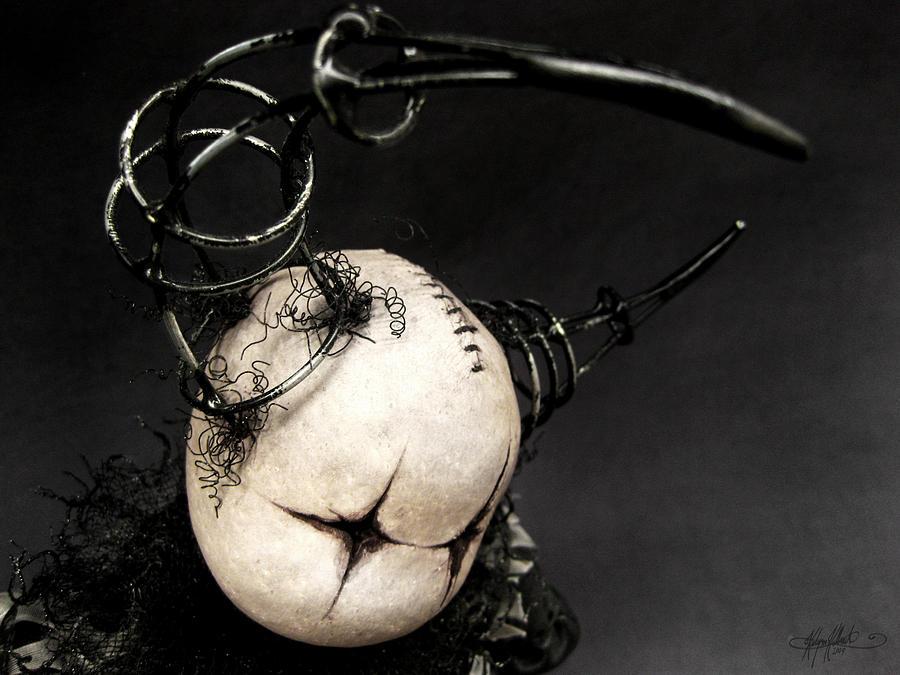 Doll Digital Art - Drum Doll Looking by Kalynn Kallweit