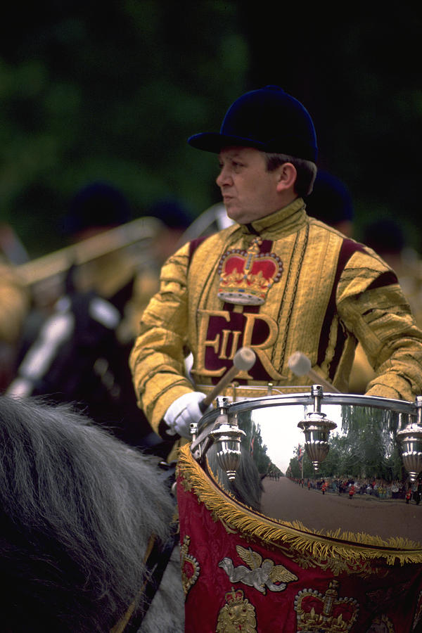 Drum Horse At Trooping The Colour Photograph