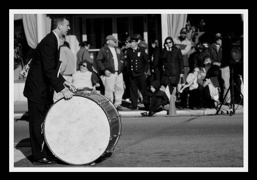 Parade Photograph - Drummer by Dana Flaherty