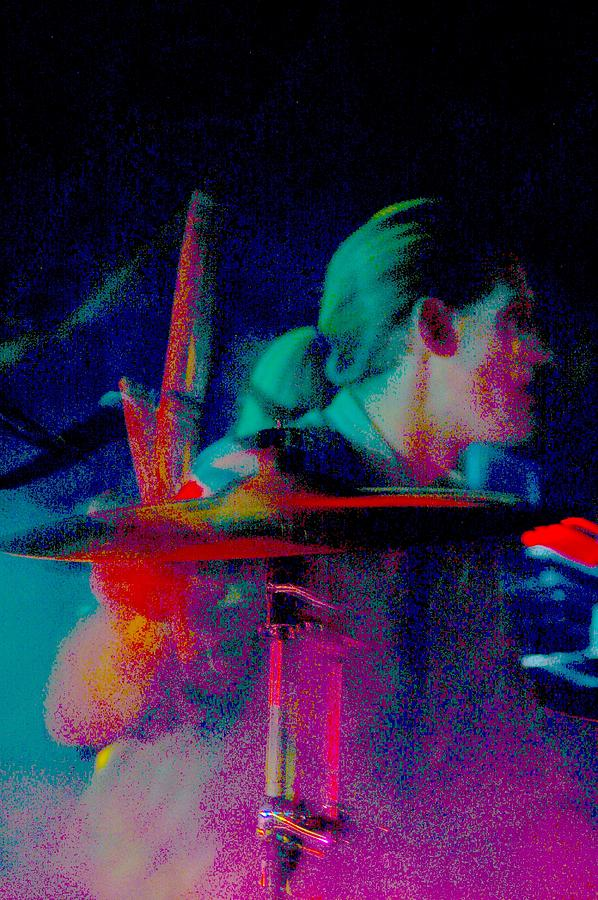 Music Photograph - Drummer  by Tommy Simpson