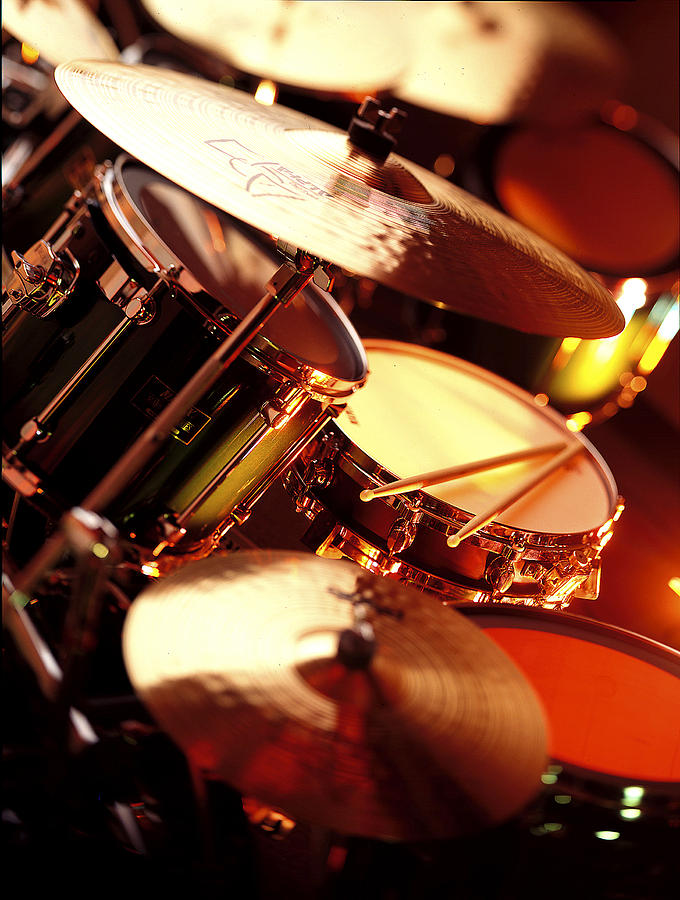 Drums Photograph - Drums by Robert Ponzoni