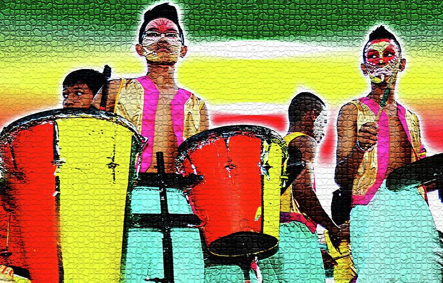 Drums Photograph - Drums by Lei De Leon