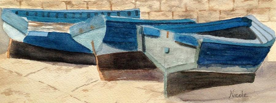 Dry Dock Painting