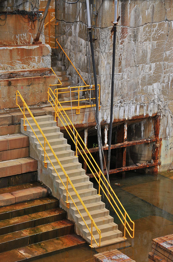 Dry Dock Stairs