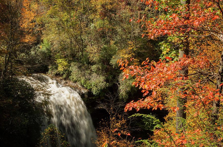 Dry Falls in North Carolina by Rob Hemphill