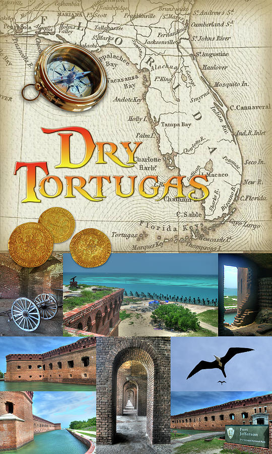 Dry Tortugas Photograph - Dry Tortugas by Timothy Lowry