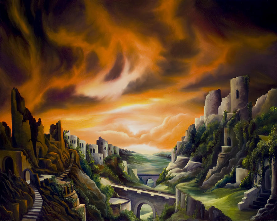 Duallands Painting by James Christopher Hill