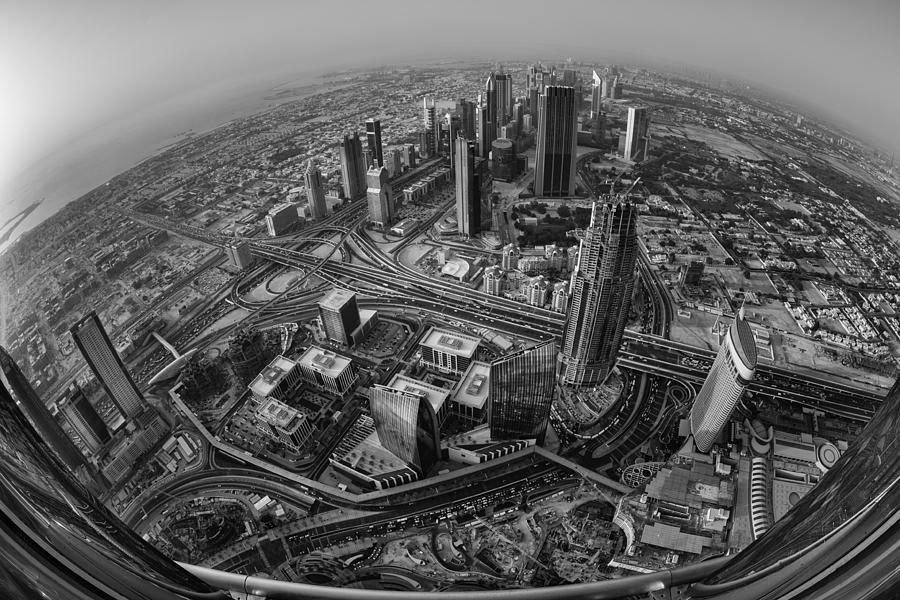 Architecture Photograph - Dubai At The Top by Robert Work