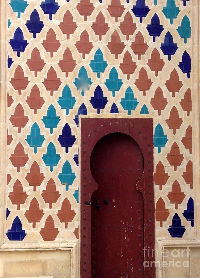 Dubai Doorway by Barbara Von Pagel