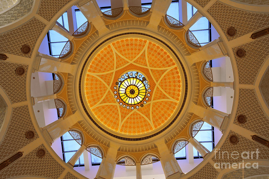 Arab Photograph - Dubai Mall Dome  by Juergen Held