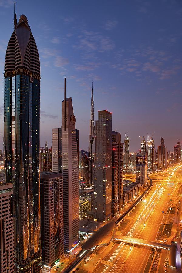 Dubai Photograph - Dubai by Ryan Miglinczy