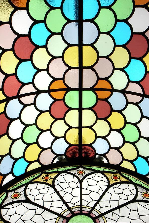 Ireland Photograph - Dublin Art Deco Stained Glass by KG Thienemann