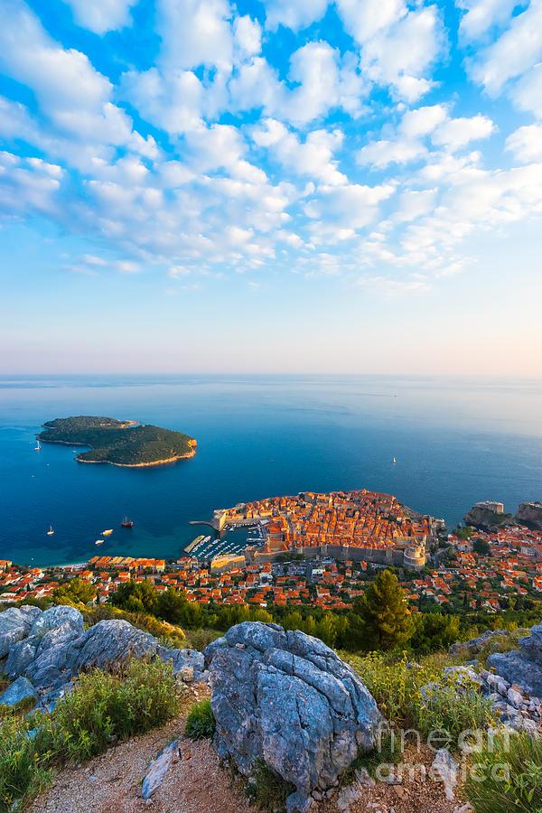 Dubrovnik Photograph - Dubrovnik 01 by Tom Uhlenberg