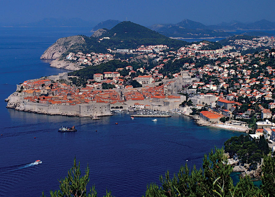 Dubrovnik Photograph - Dubrovnik Croatia by Don Wolf
