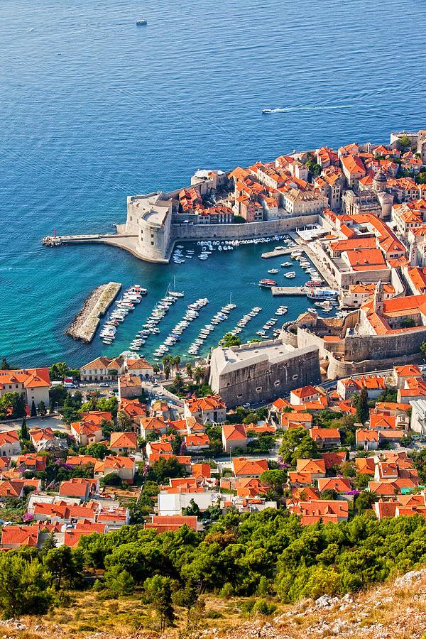 Dubrovnik Photograph - Dubrovnik From Above by Artur Bogacki