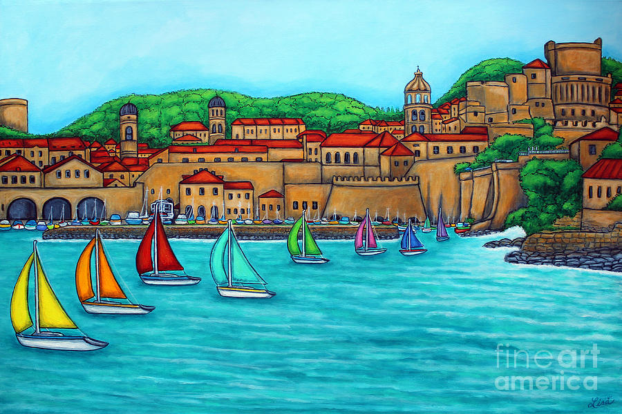 Dubrovnik Regatta by Lisa  Lorenz